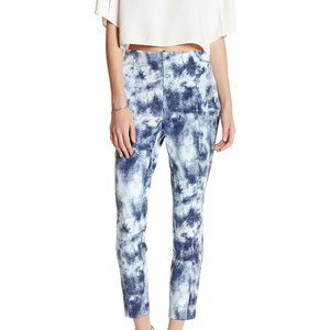 Lysse Denim Printed Twill Cigarette Pants